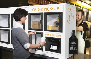Apex Streamlines Off-Premise Dining With its Self-Serve Order Pick-Up Lockers