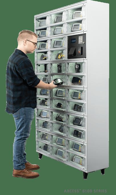 Mobile asset management locker