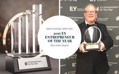 EY Announces Apex CEO, Kent Savage, Entrepreneur of the Year 2017 Award Winner